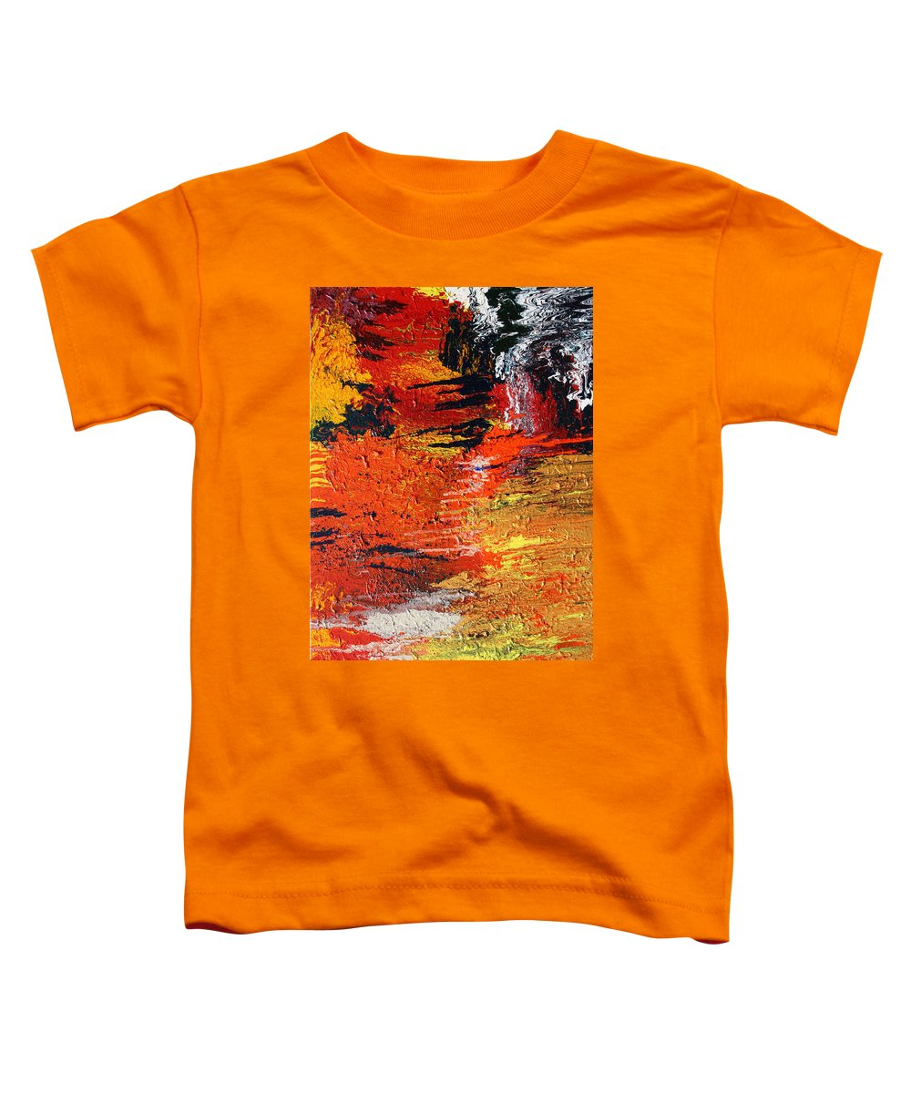 Fusionart Toddler T-Shirt featuring the painting Chasm by Ralph White