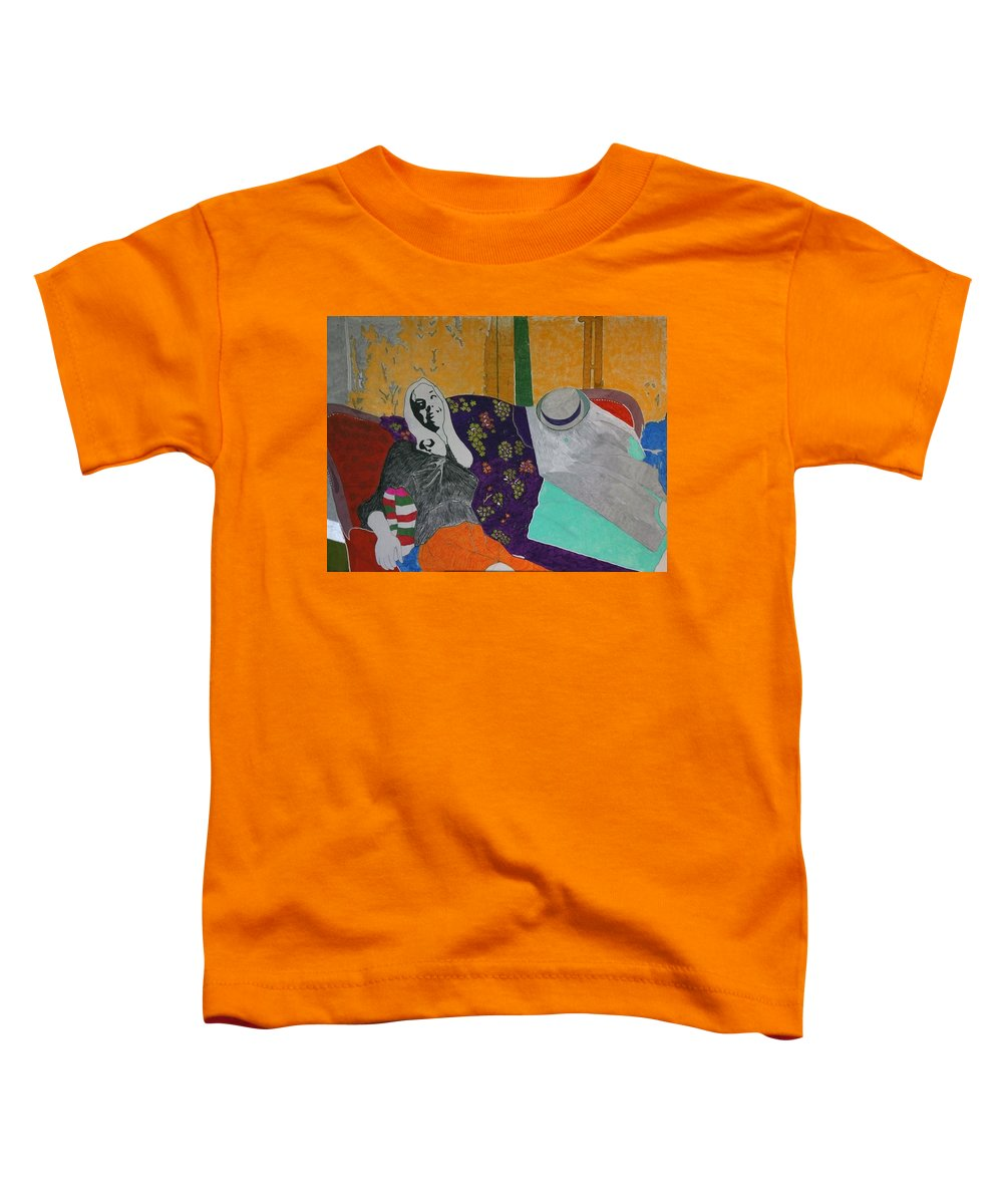 Beautiful Toddler T-Shirt featuring the painting Conchita by George Hertz