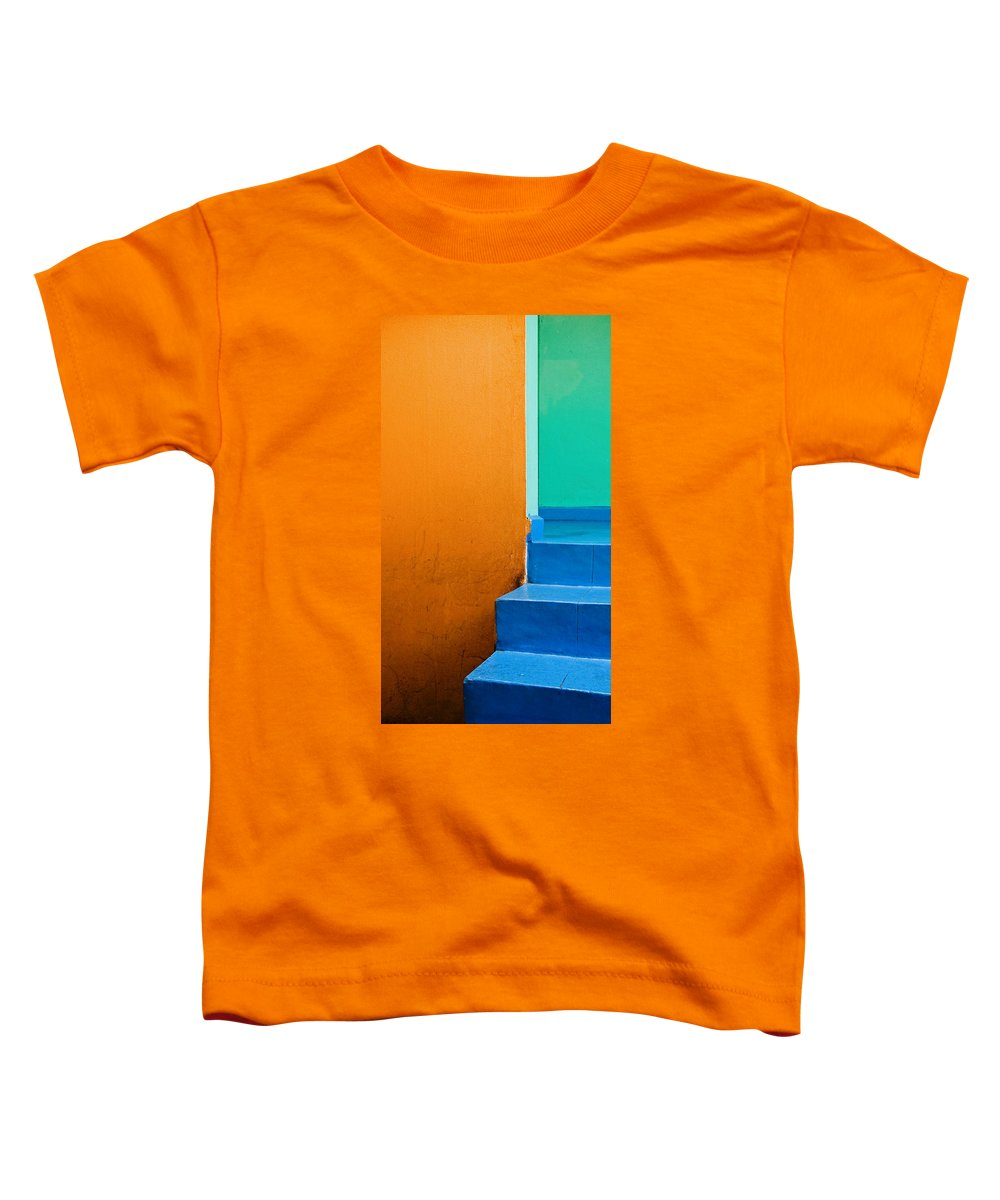Oaxaca Toddler T-Shirt featuring the photograph Creamsicle by Skip Hunt