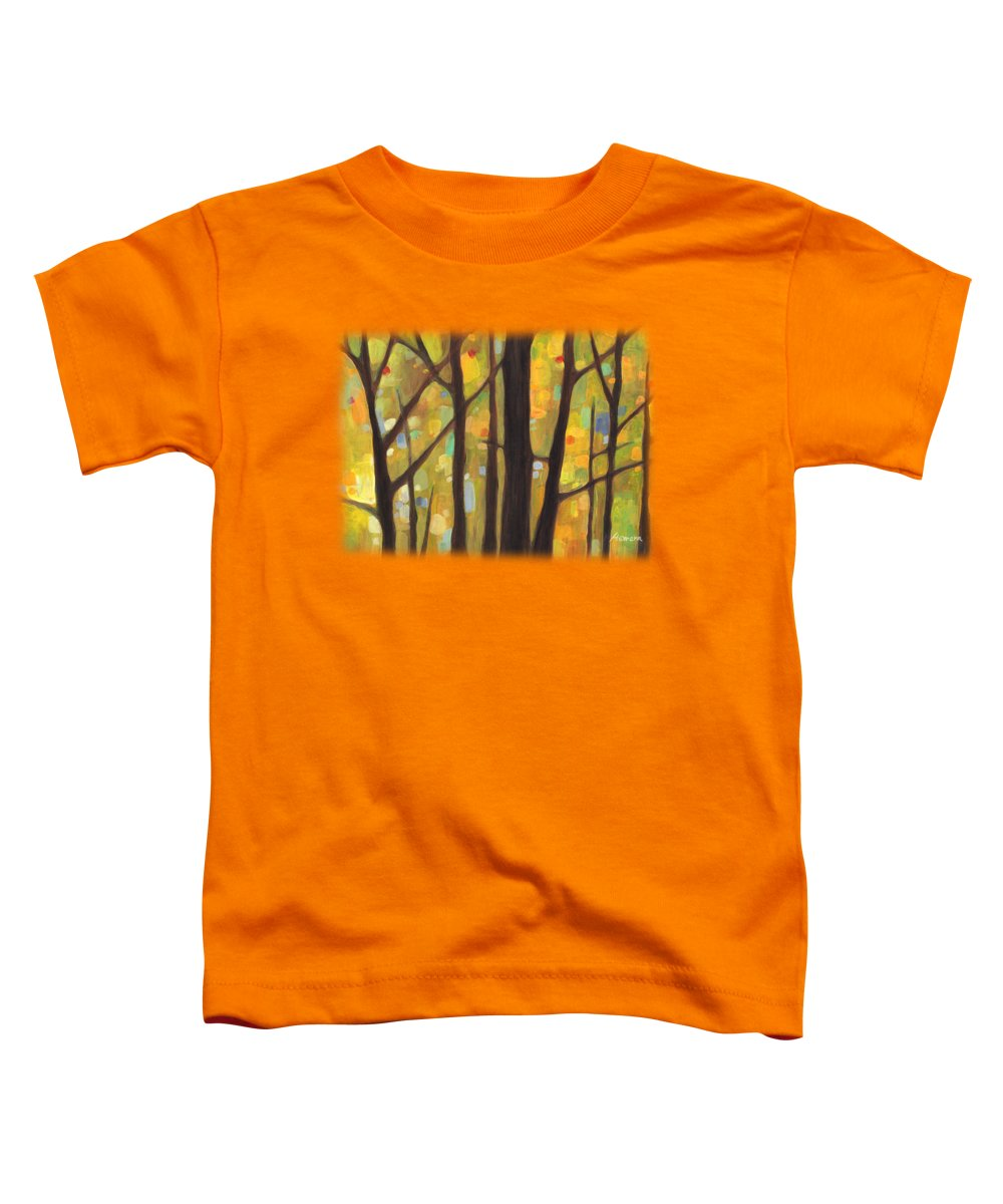 Garden Wall Paintings Toddler T-Shirts