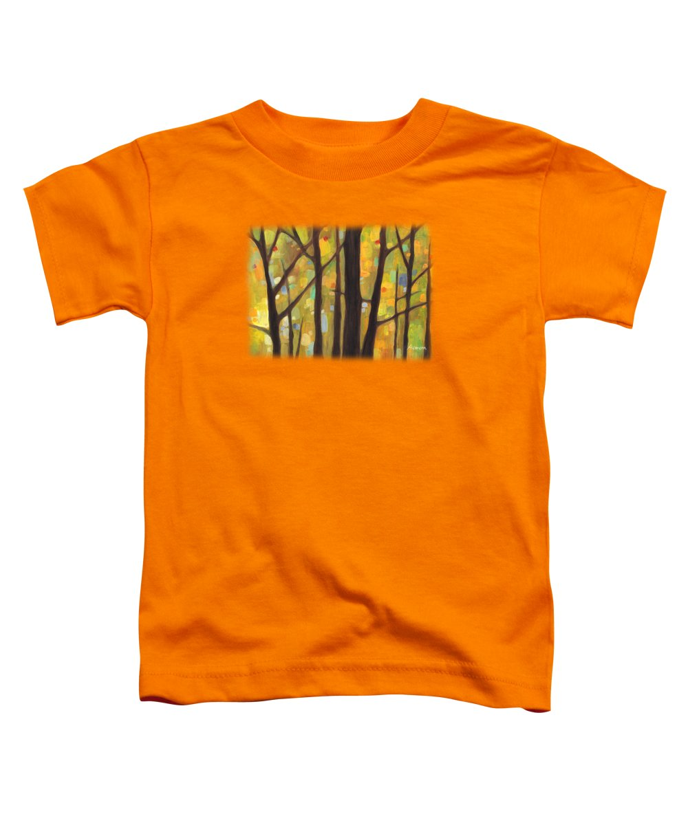 Autumn Art Toddler T-Shirts