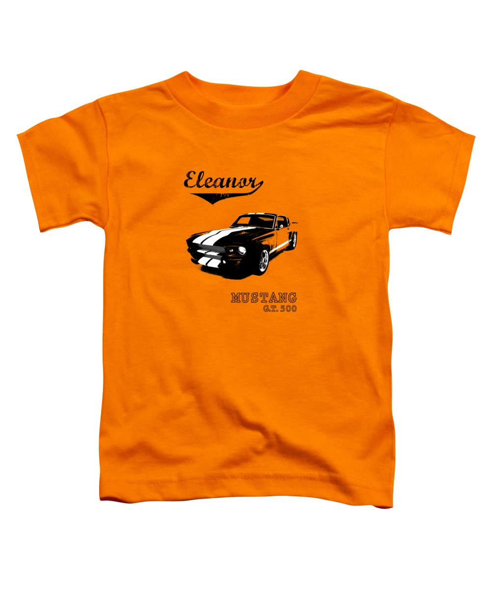 Ford Mustang Toddler T-Shirt featuring the photograph Eleanor by Mark Rogan