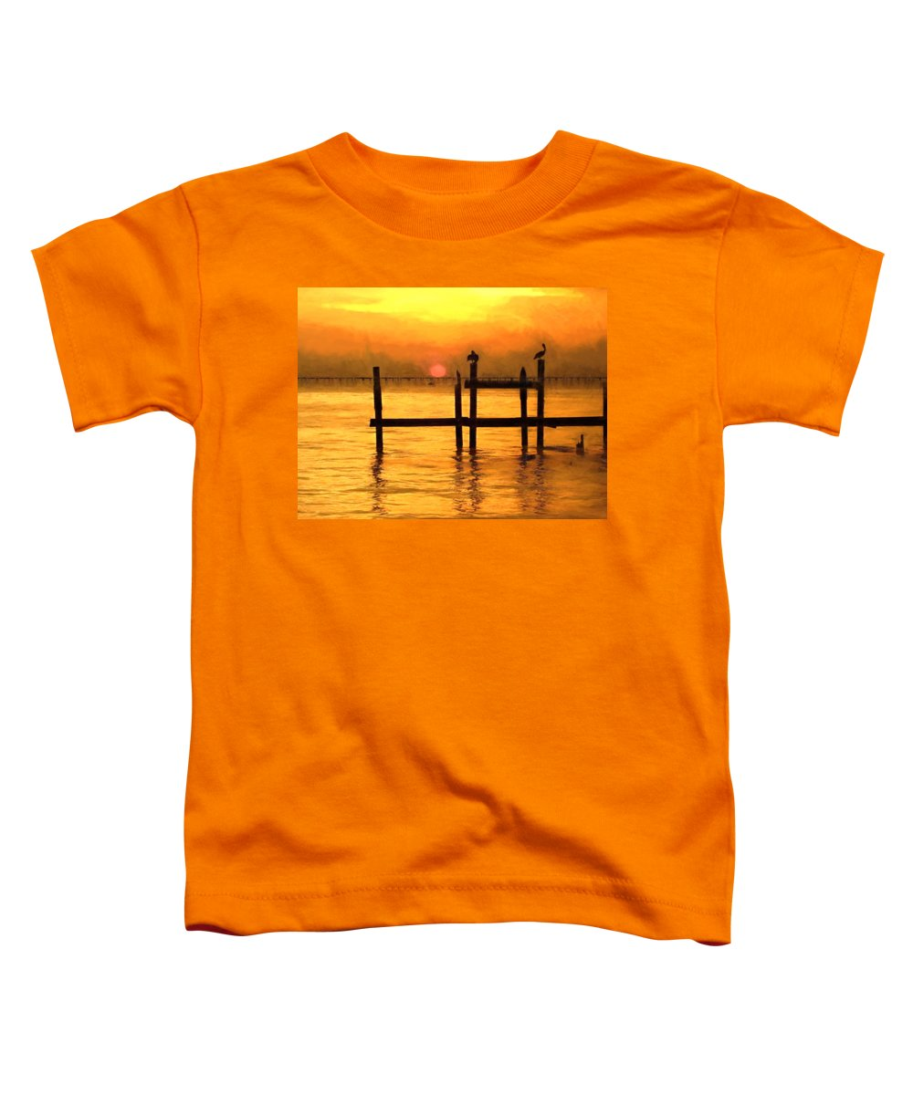 Ouisiana Toddler T-Shirt featuring the photograph Elements by Kathy Bassett