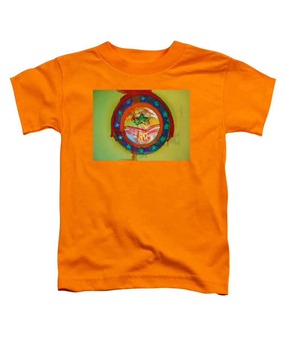 Toddler T-Shirt featuring the painting European Union by Charles Stuart