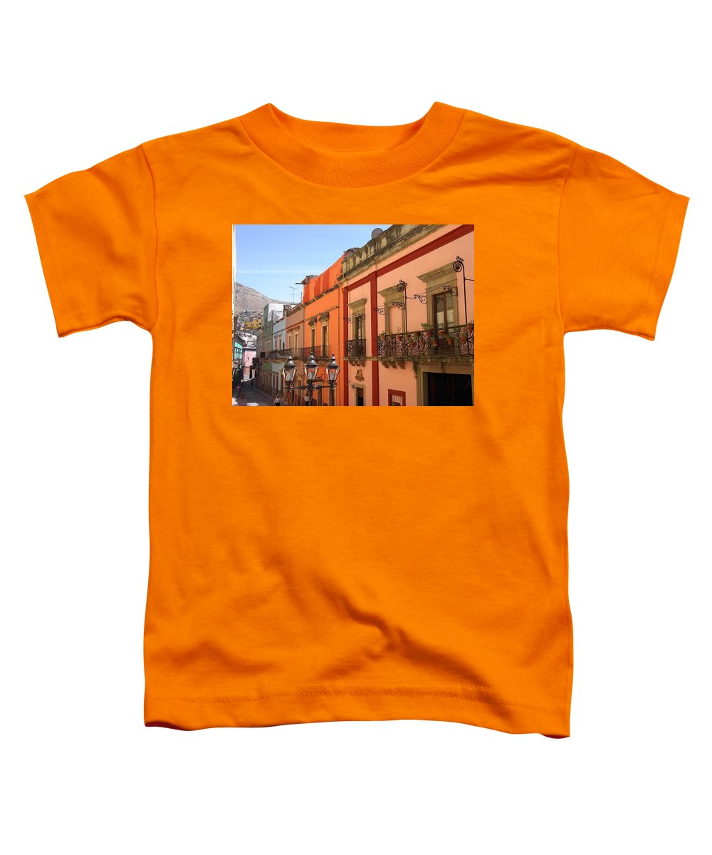 Charity Toddler T-Shirt featuring the photograph Guanajuato by Mary-Lee Sanders
