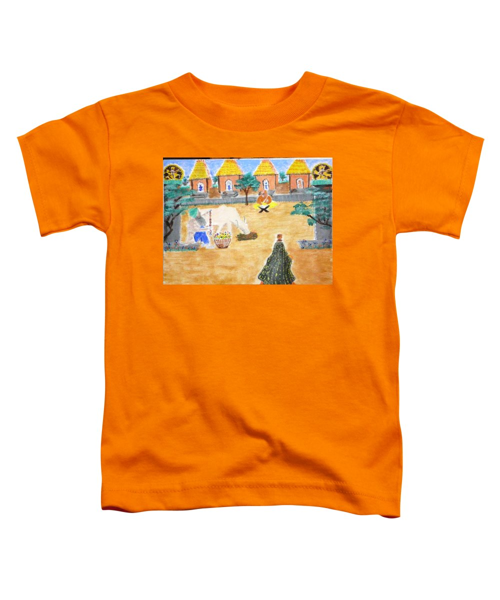 Toddler T-Shirt featuring the painting Harmony by R B