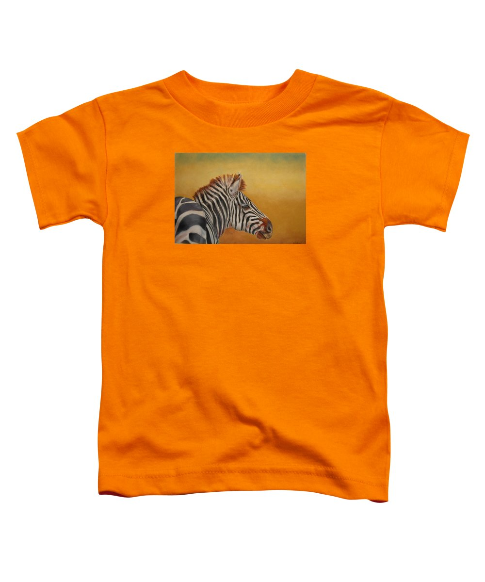 Africa Toddler T-Shirt featuring the painting Hello Africa by Ceci Watson