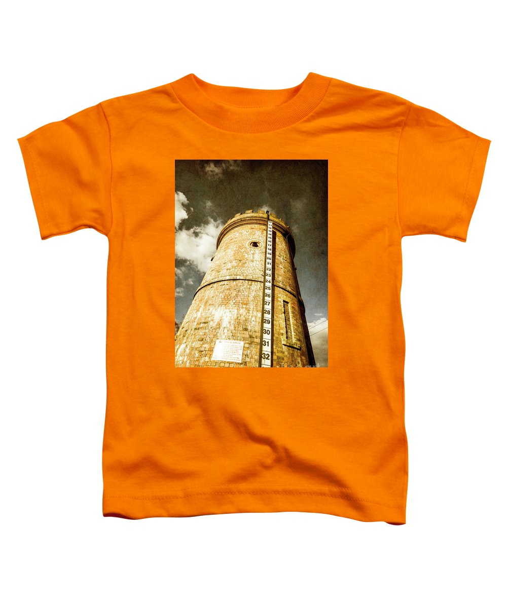Tower Toddler T-Shirt featuring the photograph Historic Water Storage Structure by Jorgo Photography - Wall Art Gallery