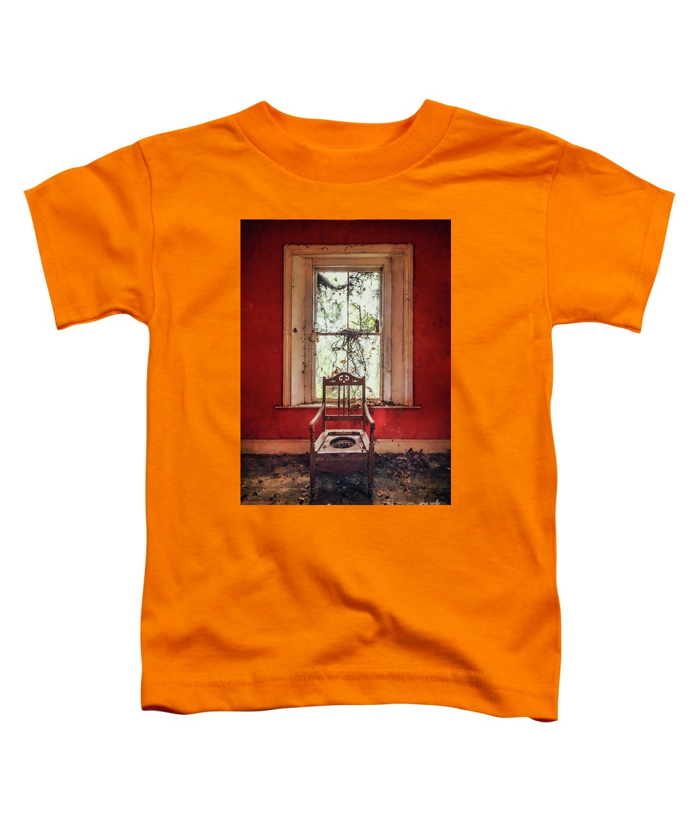 Kremsdorf Toddler T-Shirt featuring the photograph Neglect by Evelina Kremsdorf