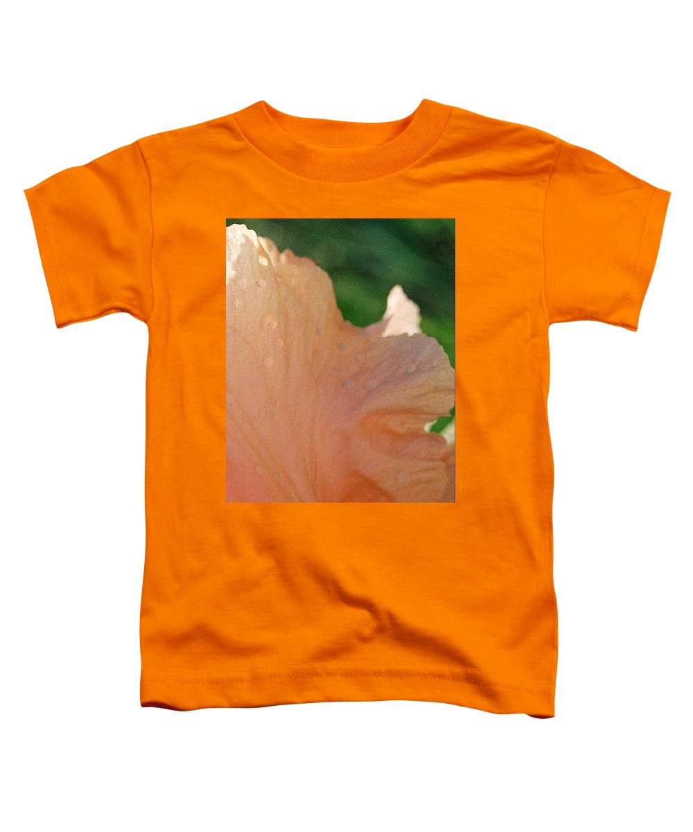 Abstract Toddler T-Shirt featuring the photograph Panel Three From Iris by Steve Karol