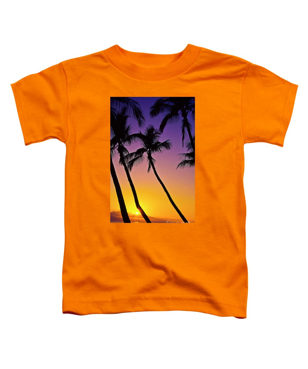 Sunset Toddler T-Shirt featuring the photograph Paradise by Jim Cazel