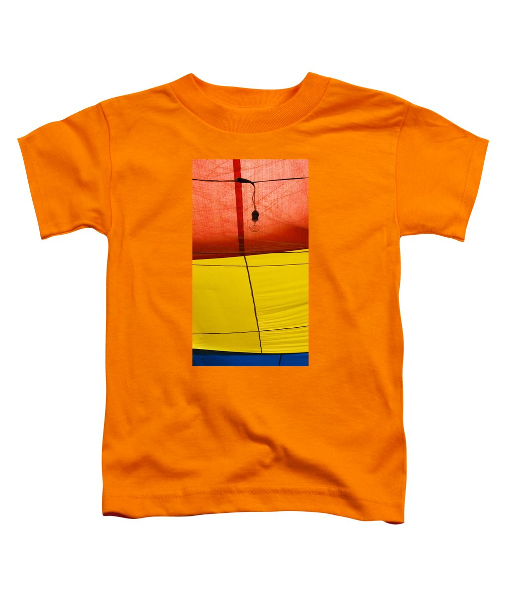 Bulb Toddler T-Shirt featuring the photograph Primary Light by Skip Hunt