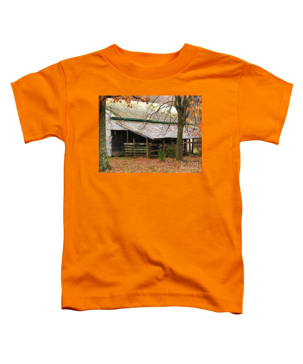 Rural Toddler T-Shirt featuring the photograph Rural by Amanda Barcon