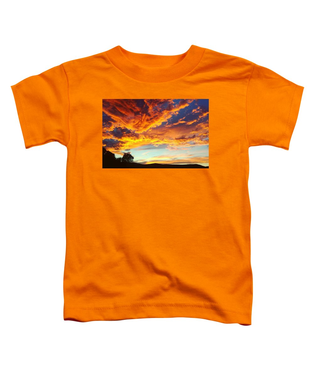 Scenic Digital Art Toddler T-Shirts