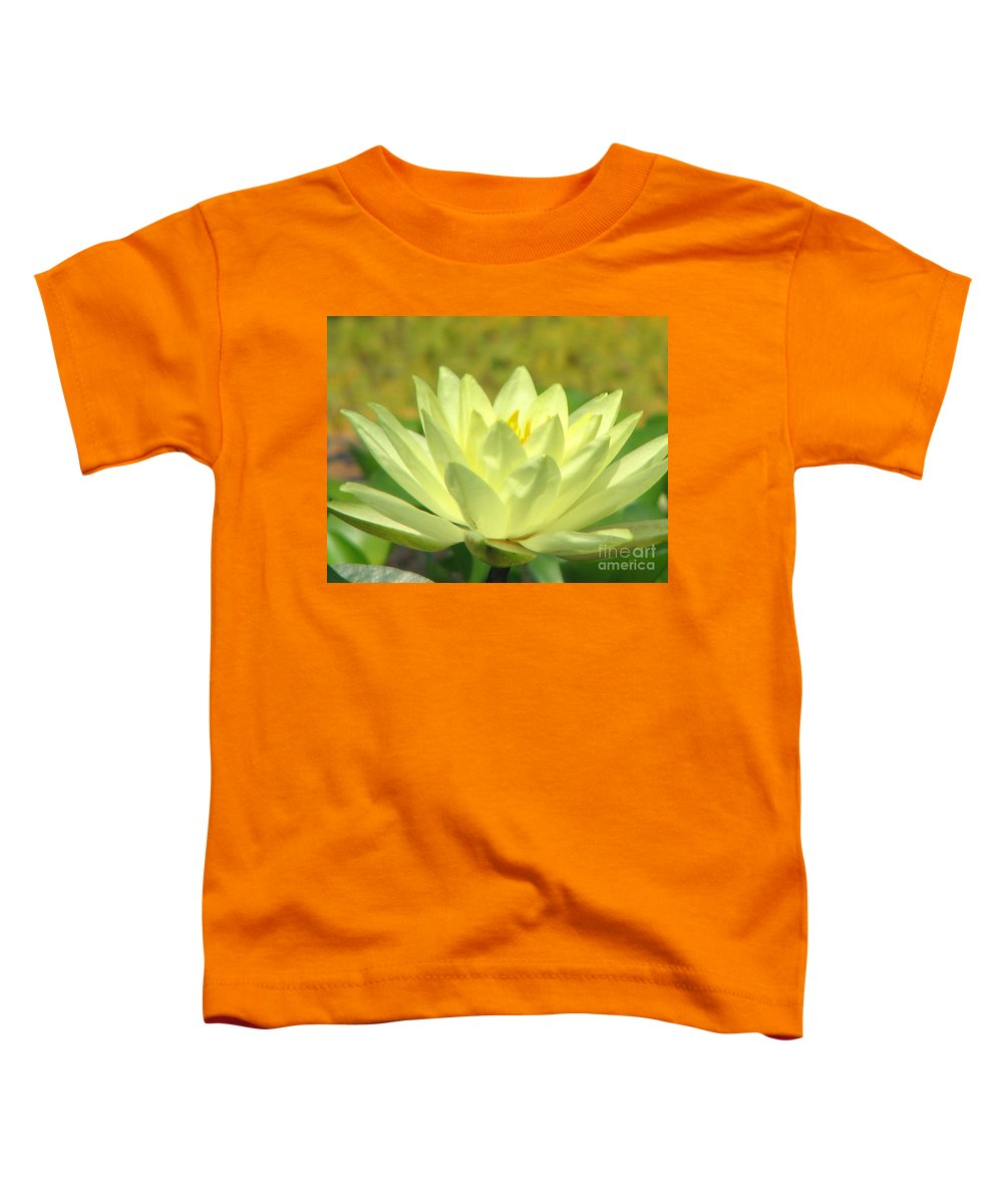 Lillypad Toddler T-Shirt featuring the photograph Shades by Amanda Barcon