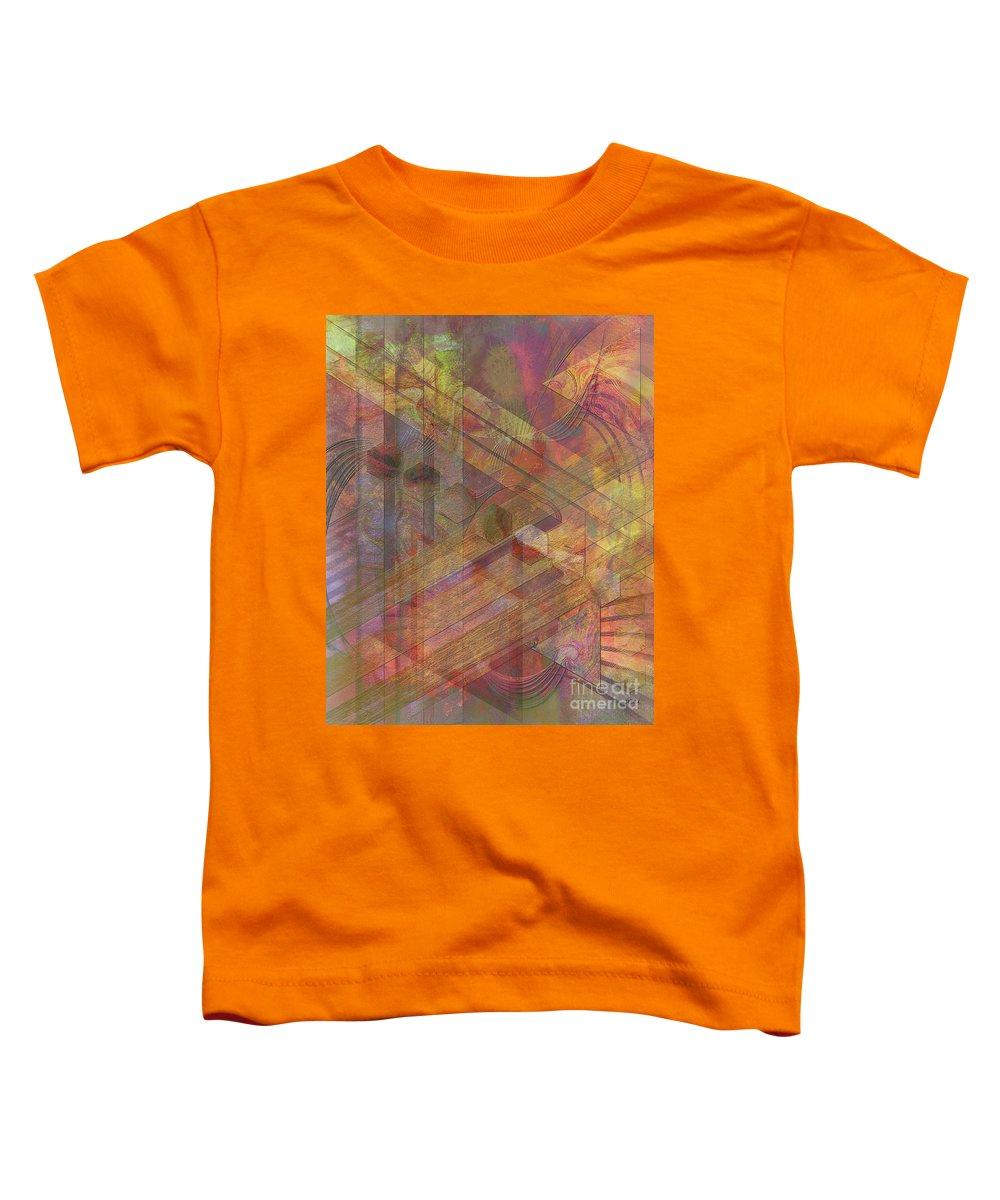 Soft Fantasia Toddler T-Shirt featuring the digital art Soft Fantasia by John Beck