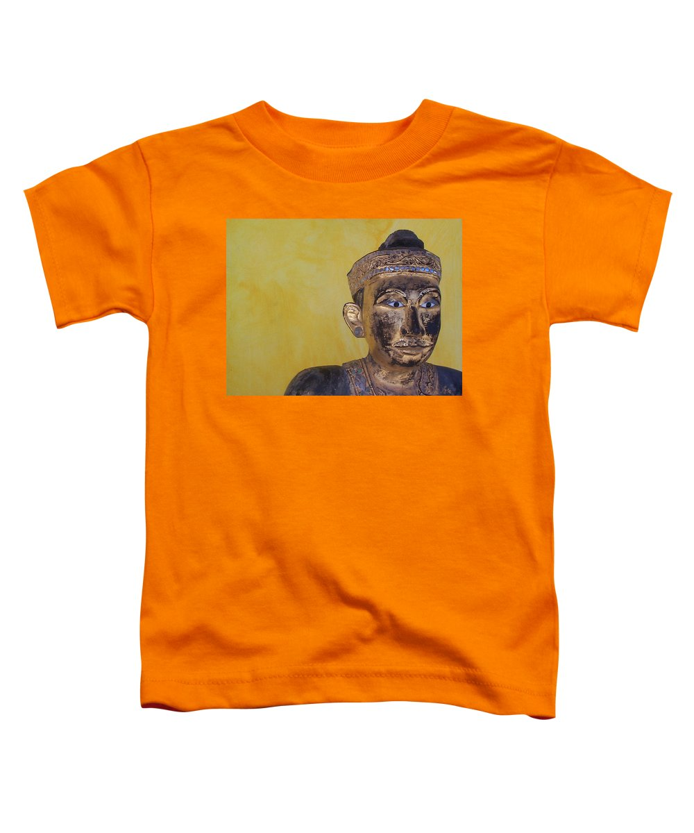 Charity Toddler T-Shirt featuring the photograph Statue by Mary-Lee Sanders