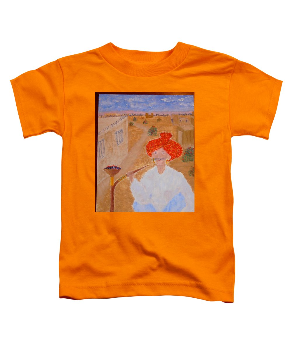 People Toddler T-Shirt featuring the painting Tau by R B