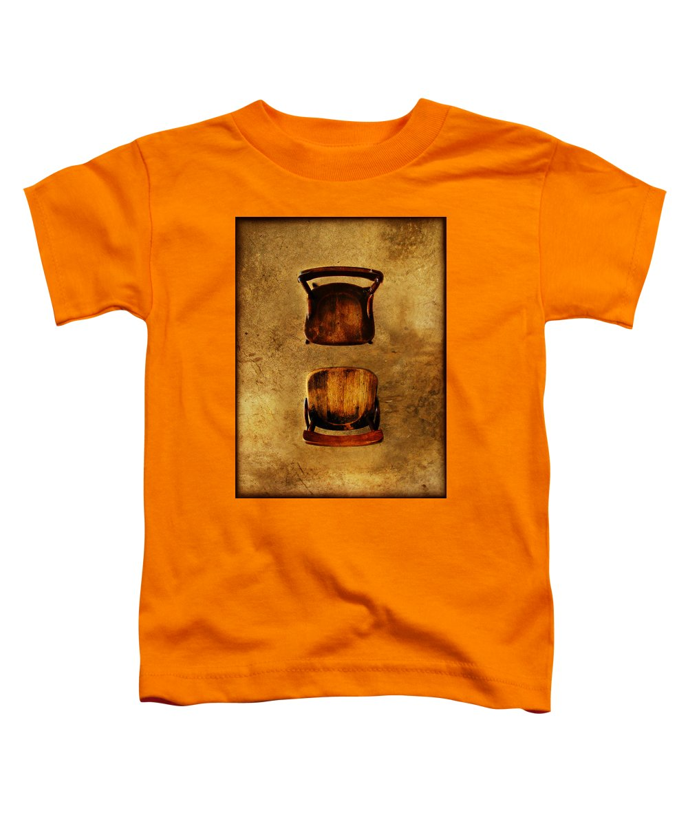 Dipasquale Toddler T-Shirt featuring the photograph The Space Between You And Me by Dana DiPasquale
