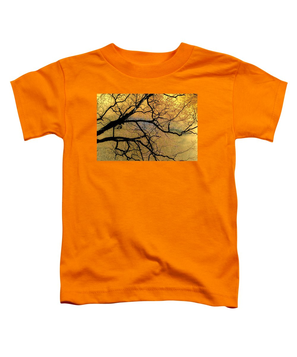 Scenic Toddler T-Shirt featuring the photograph Tree Fantasy 7 by Lee Santa