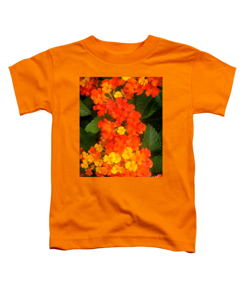 Nature Toddler T-Shirt featuring the photograph Volcanic Display by Lucyna A M Green