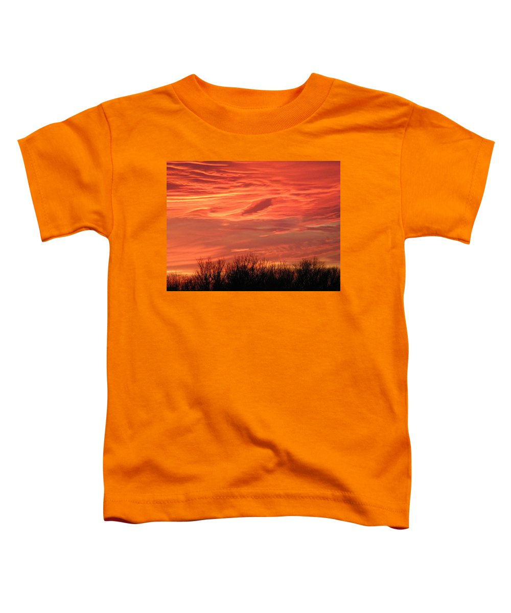 Sunset Toddler T-Shirt featuring the photograph Who Needs Jupiter by Gale Cochran-Smith