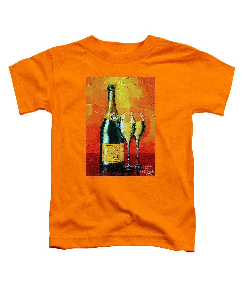 Champagne Toddler T-Shirts