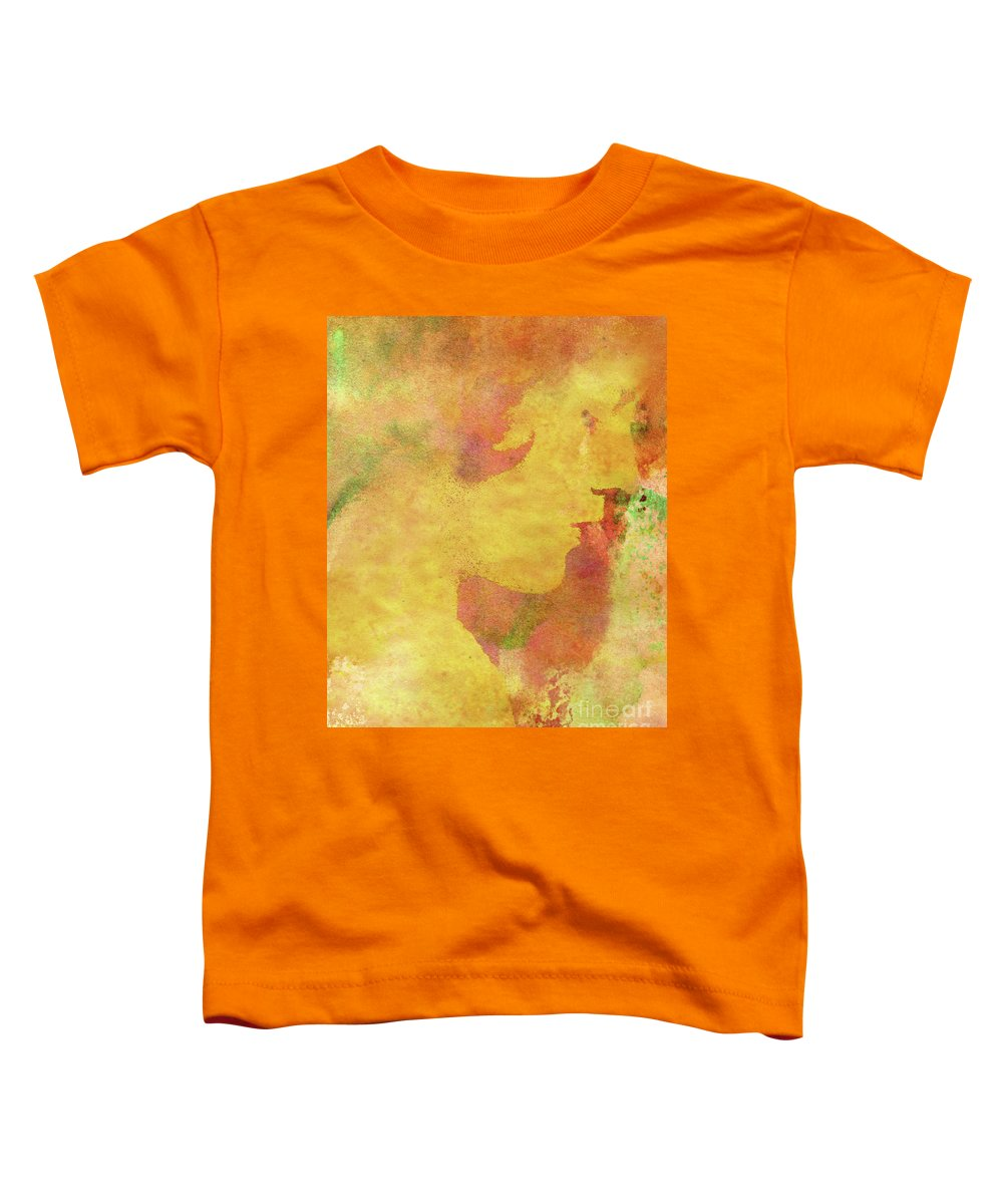 Shades Of You Toddler T-Shirt featuring the digital art Shades of You by Kenneth Rougeau