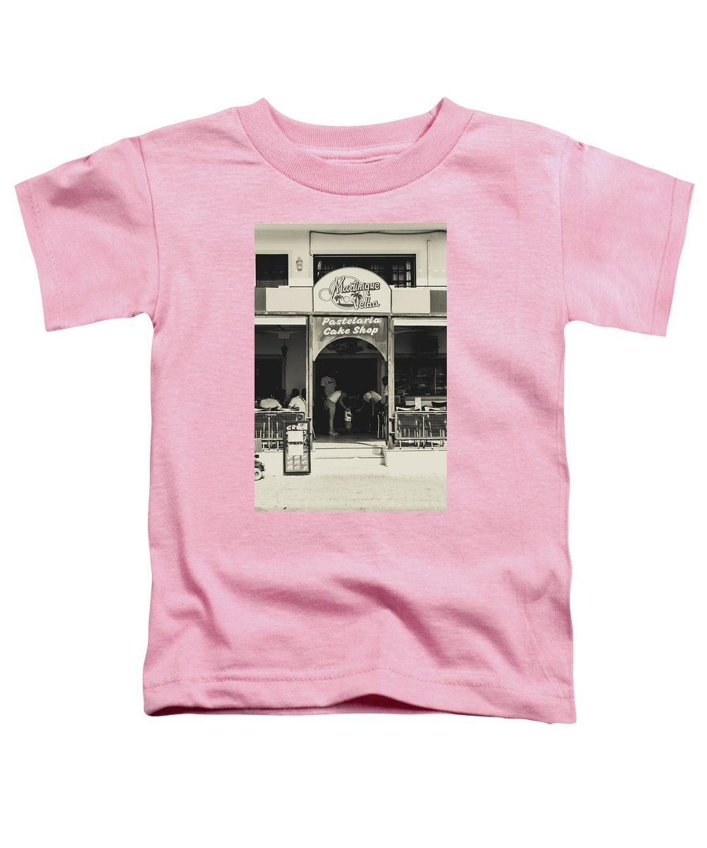 Street Toddler T-Shirt featuring the photograph Albufeira Street Series - Martinique Velha by Marco Oliveira