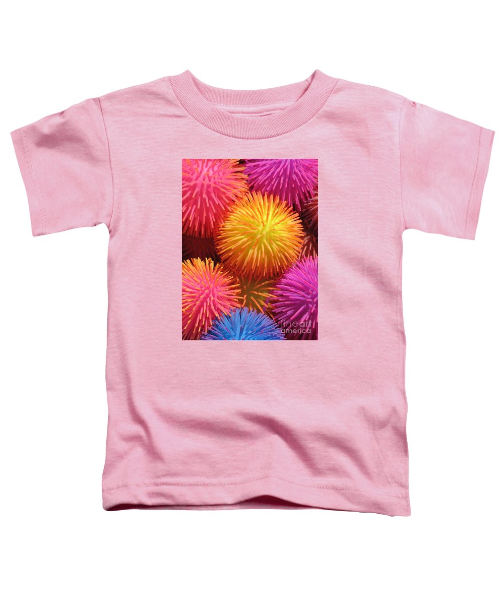 Abstract Toddler T-Shirt featuring the photograph Dazzlers by Ann Horn