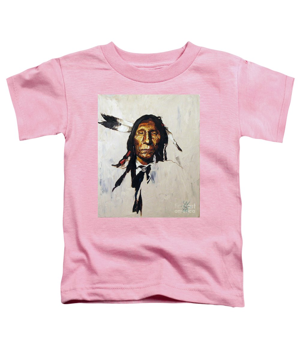 Southwest Art Toddler T-Shirt featuring the painting Remember by J W Baker
