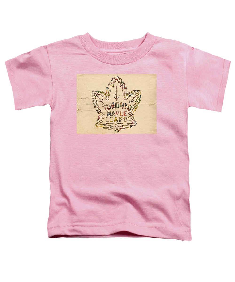 separation shoes 74e89 38666 Toronto Maple Leafs Retro Poster Toddler T-Shirt