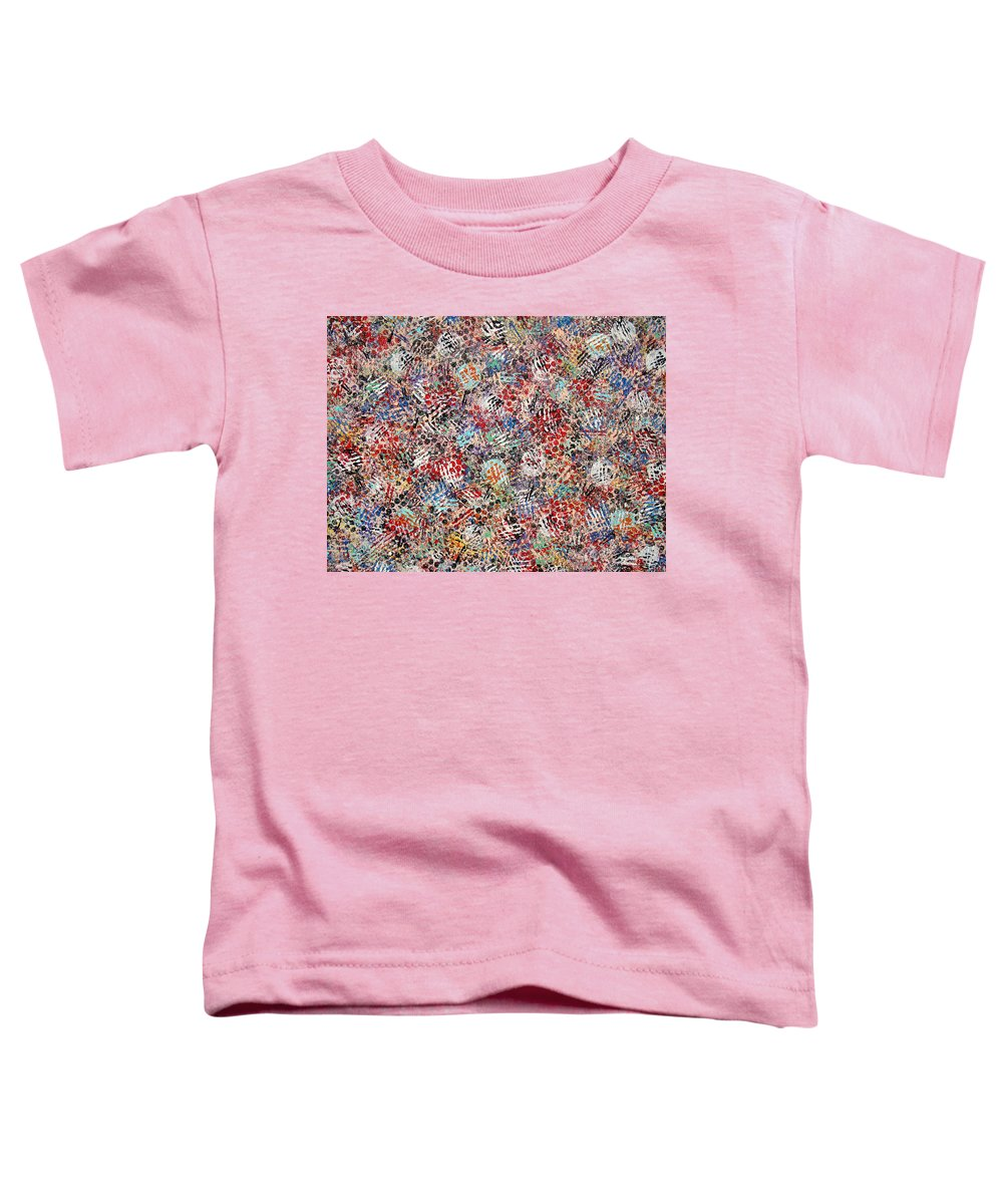 Golf Toddler T-Shirt featuring the painting Golf by Natalie Holland