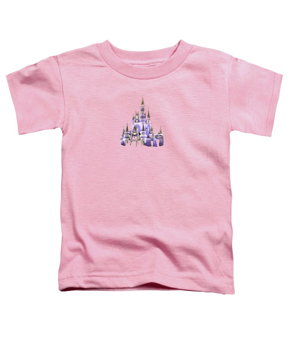 Disney Toddler T-Shirt featuring the photograph Magic Kingdom by Art Spectrum