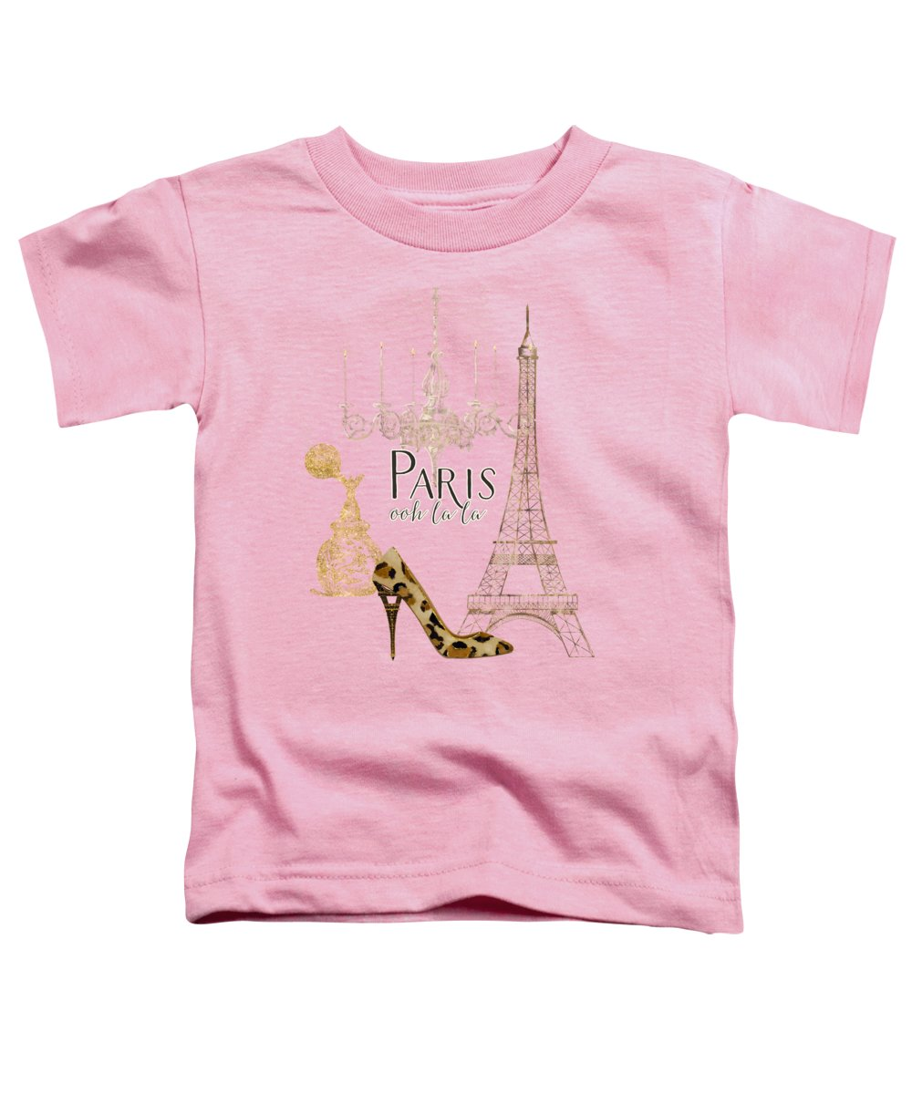 Eiffel Tower Toddler T-Shirts