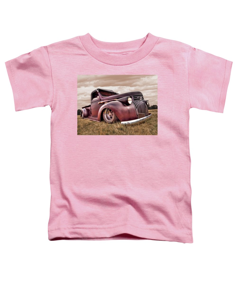Rusty Truck Toddler T-Shirts