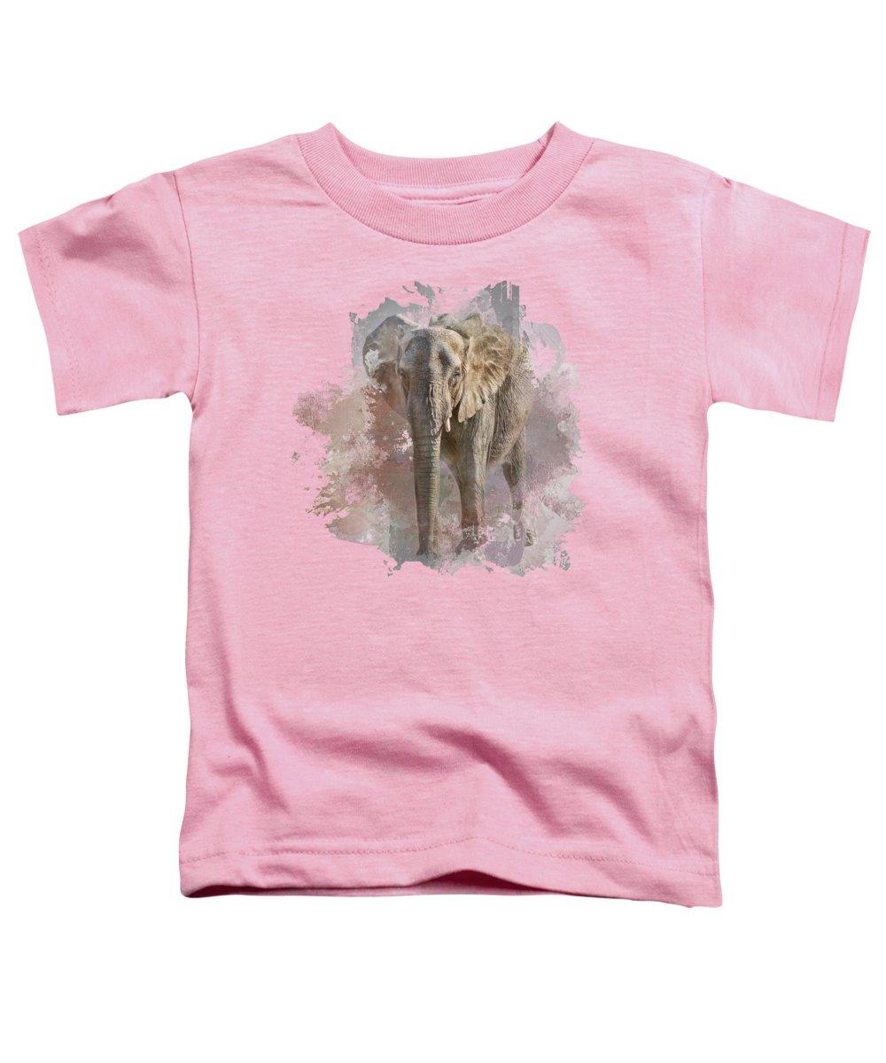 African Elephant Photographs Toddler T-Shirts