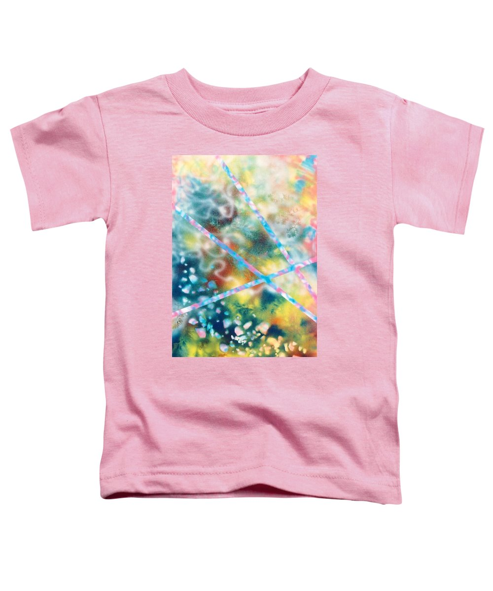 Abstract Toddler T-Shirt featuring the painting Autumn by Micah Guenther