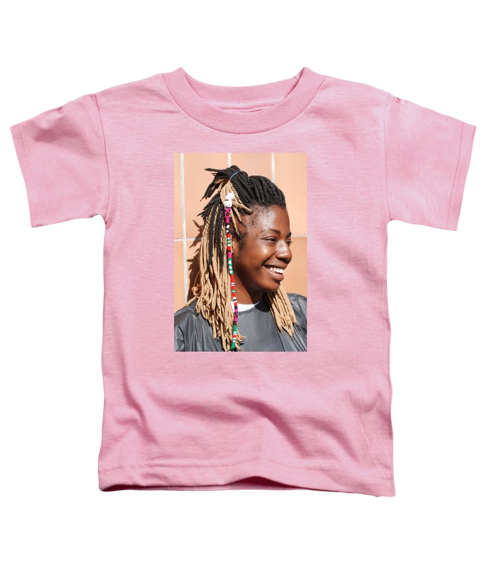 People Toddler T-Shirt featuring the photograph Braided Lady by Rob Hans