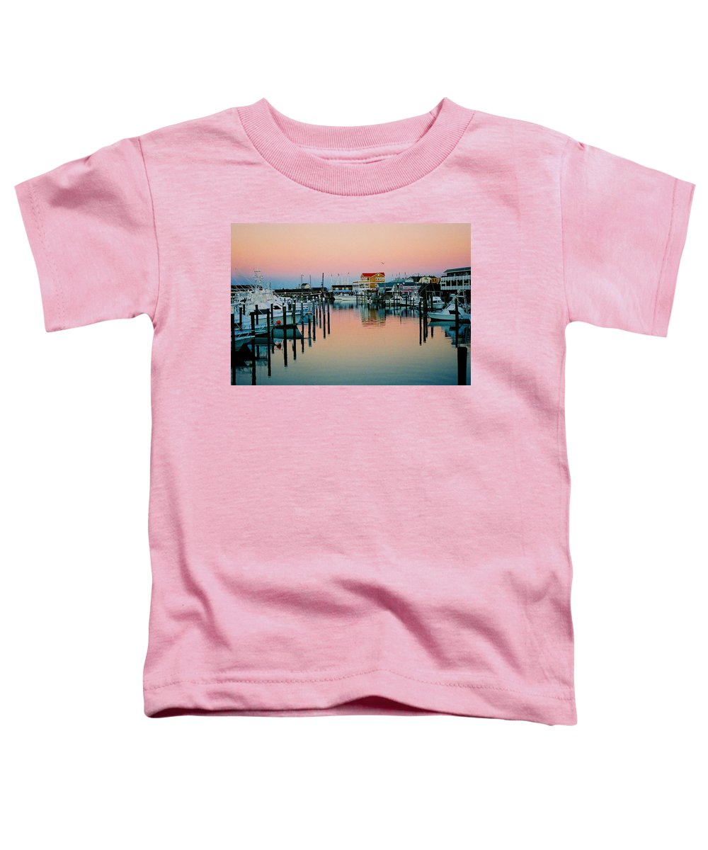 Cape May Toddler T-Shirt featuring the photograph Cape May After Glow by Steve Karol