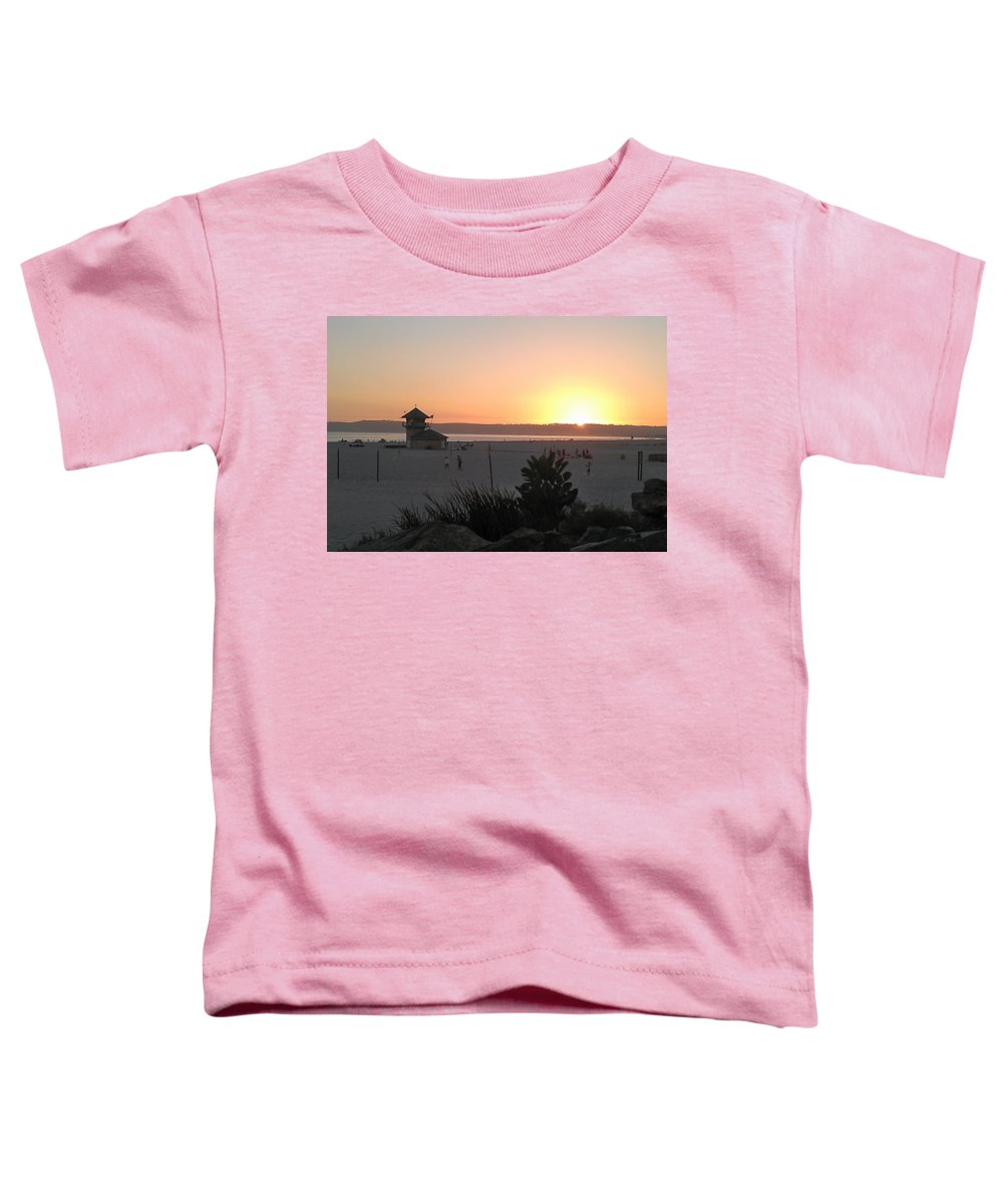 Sunset Art Toddler T-Shirts