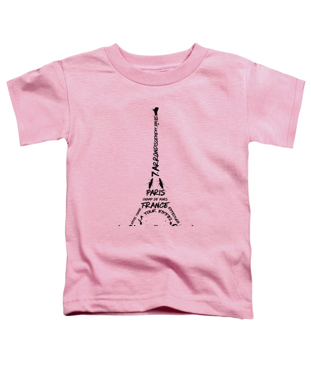 Paris Toddler T-Shirts