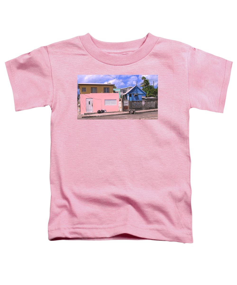 Basseterre Toddler T-Shirt featuring the photograph Far From Dull by Ian MacDonald