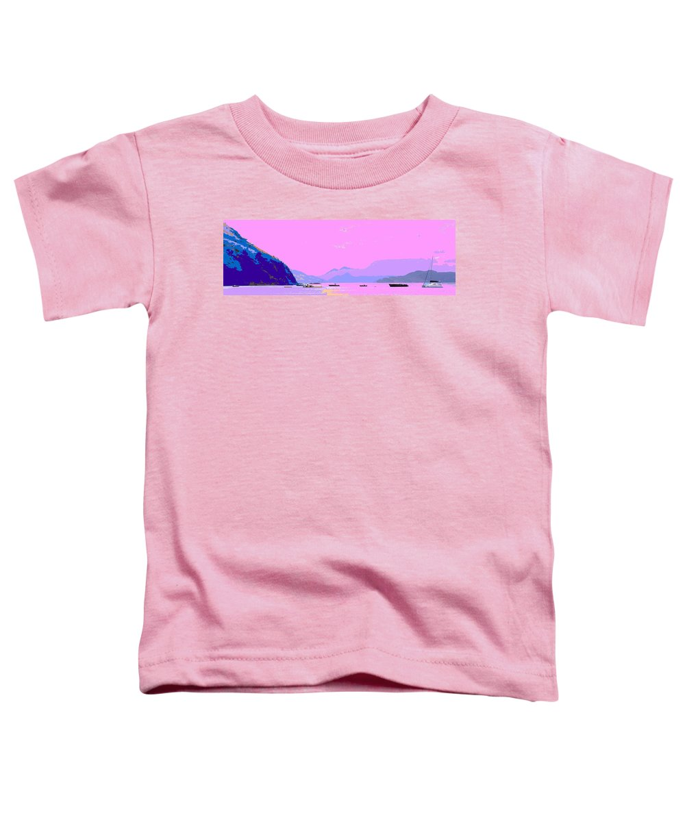 Frigate Toddler T-Shirt featuring the photograph Frigate Bay Morning by Ian MacDonald
