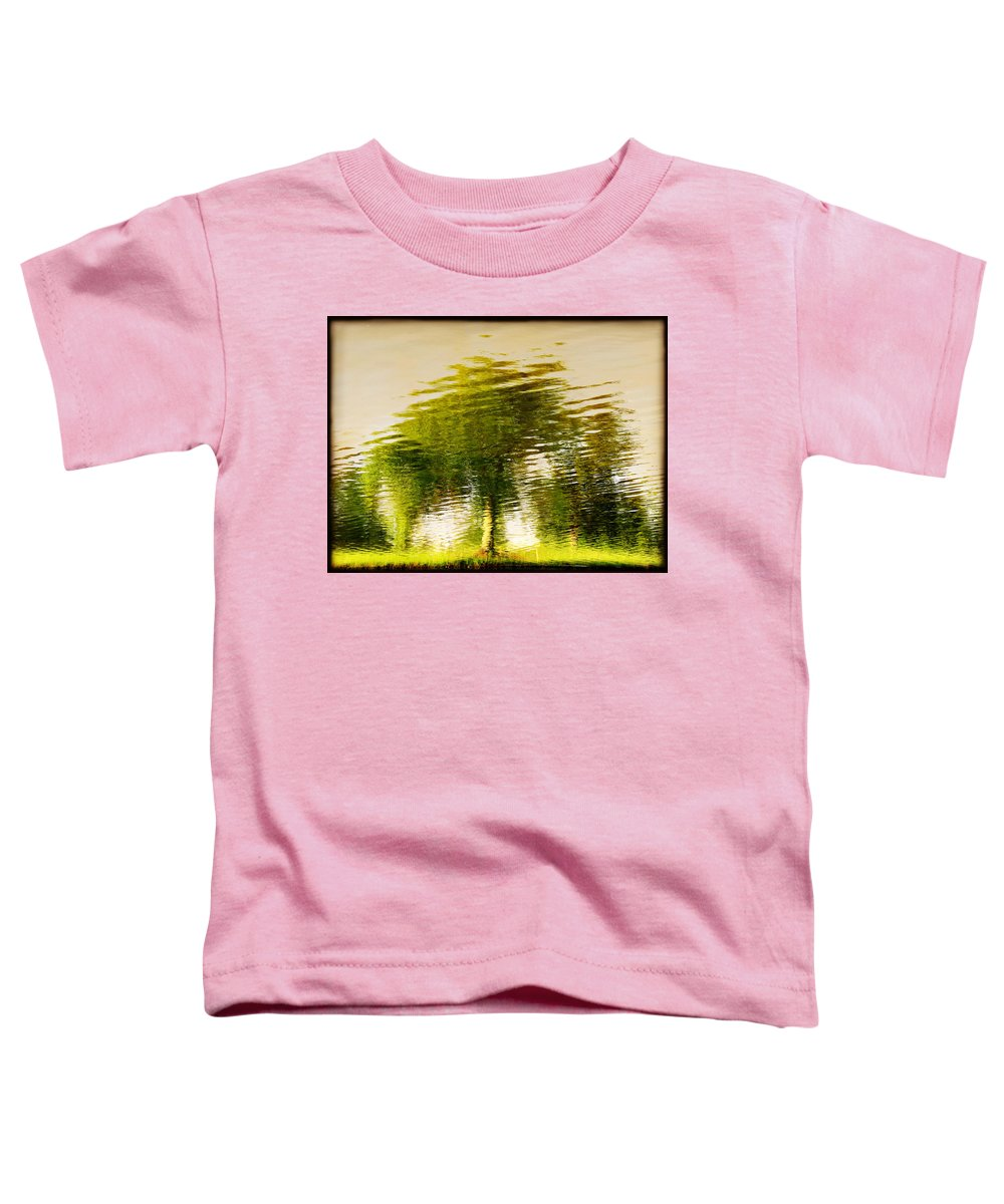 Abstract Toddler T-Shirt featuring the photograph Gentle Sun by Dana DiPasquale