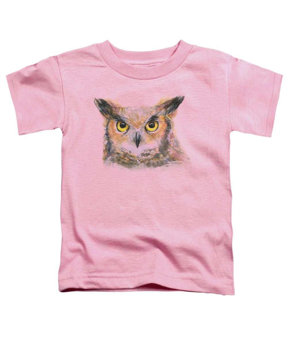 Owl Toddler T-Shirts