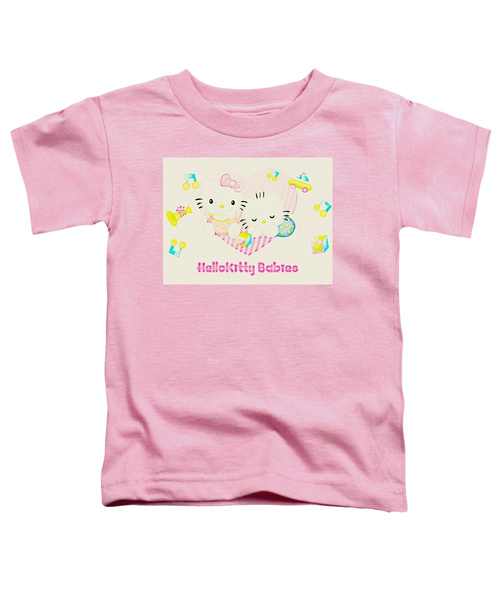 bcb401ae2 Hello Kitty Toddler T-Shirt for Sale by Lora Battle