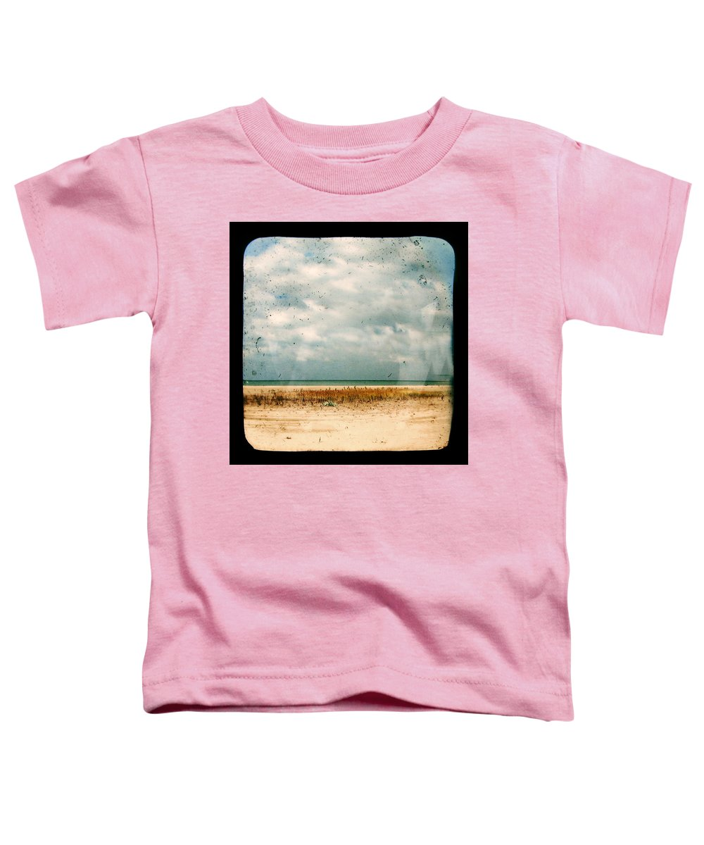Dipasquale Toddler T-Shirt featuring the photograph I Honestly Believed by Dana DiPasquale