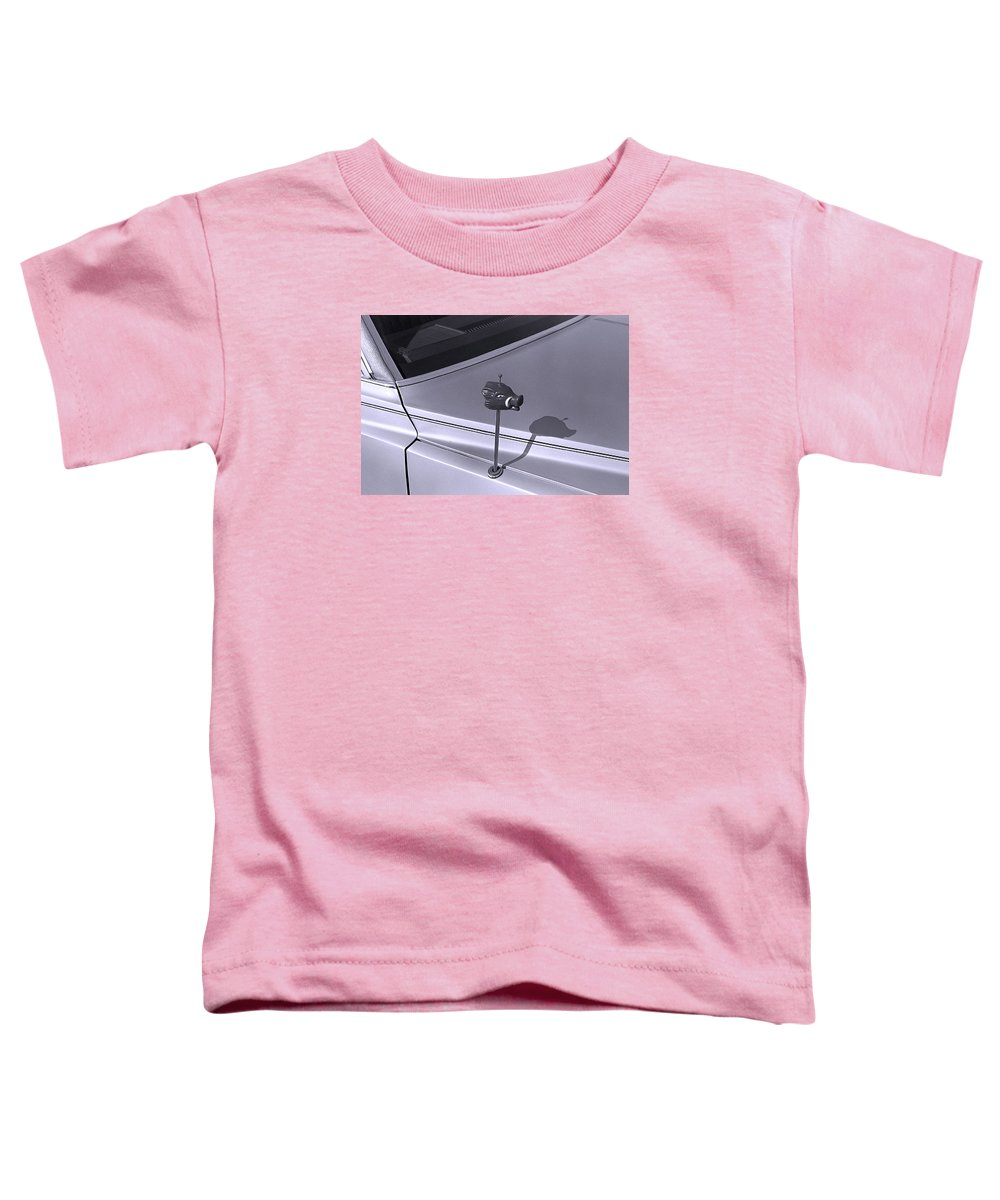 Primitive Toddler T-Shirt featuring the photograph Modern Primitive by Ted M Tubbs