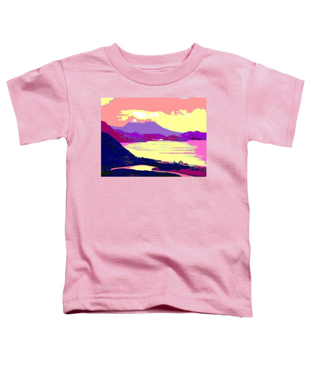 Nevis Toddler T-Shirt featuring the photograph Nevis From The Penninsula by Ian MacDonald
